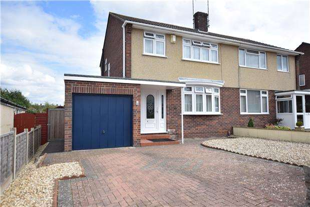 3 Bedrooms Semi Detached House for sale in Wansbeck Road, Keynsham, BRISTOL, BS31 1QJ