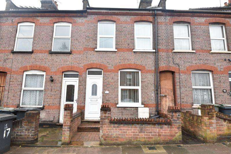 2 Bedrooms Terraced House for sale in St. Peters Road, Luton