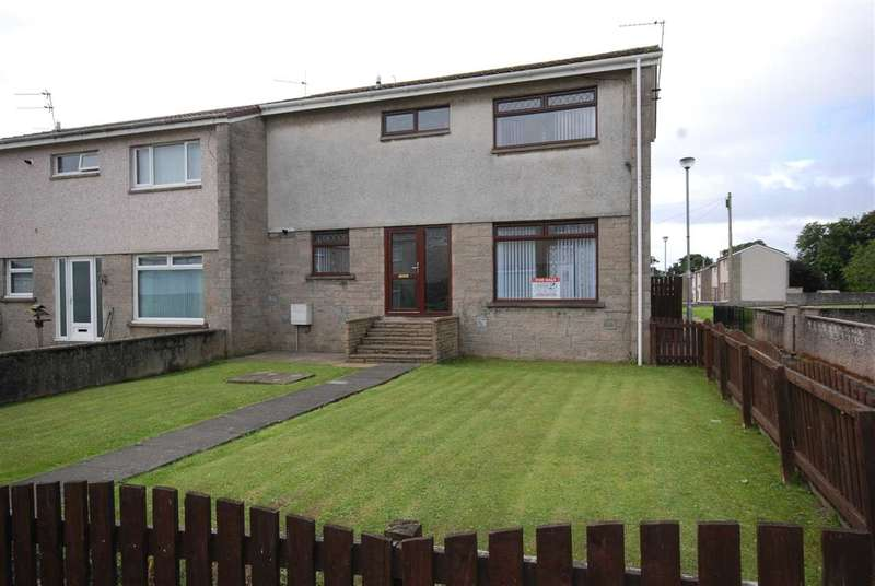 3 Bedrooms End Of Terrace House for sale in Campbell Avenue, Stevenston