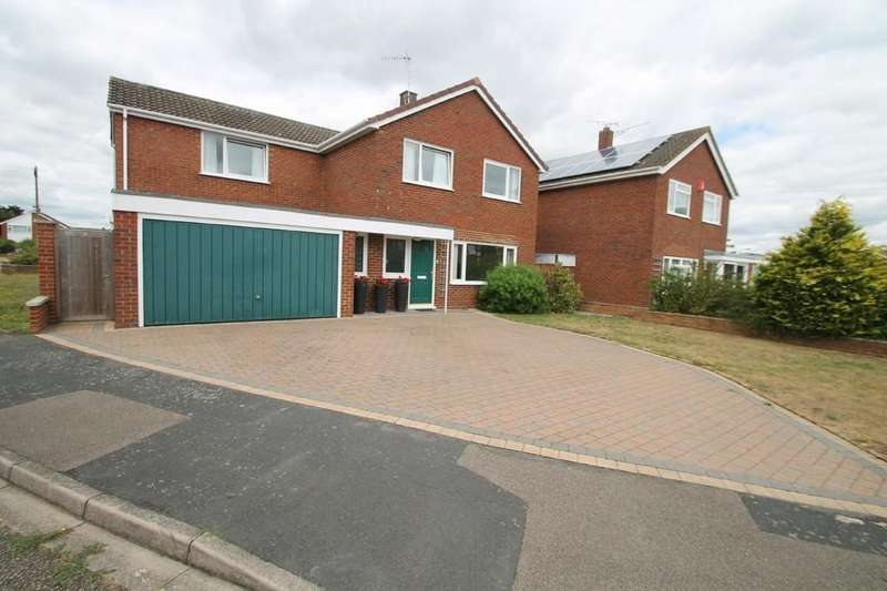 4 Bedrooms Detached House for sale in Purbeck Close, Aylesbury