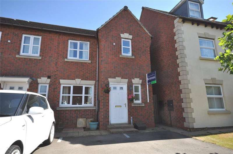 3 Bedrooms End Of Terrace House for sale in Houghton Close, Asfordby Hill, Melton Mowbray