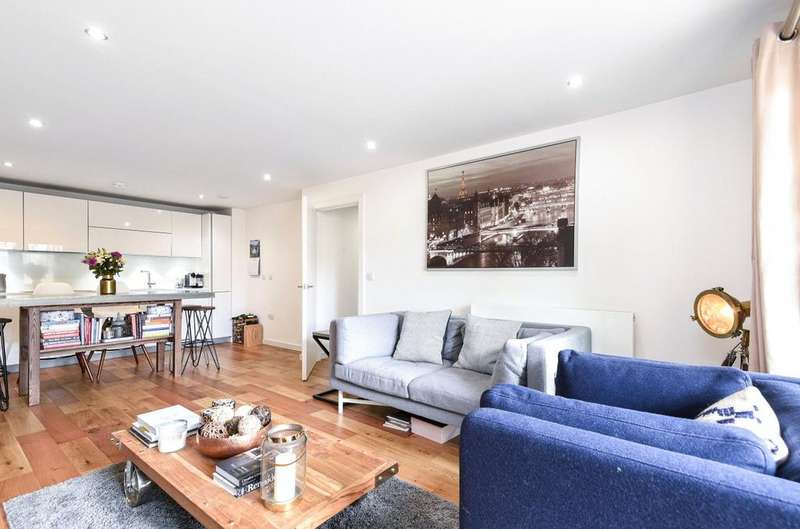 2 Bedrooms Flat for sale in Bramah Road, London, SW9