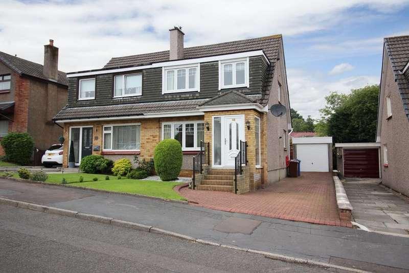 3 Bedrooms Semi Detached House for sale in 12 Mirren Drive, Duntocher, G81 6LS