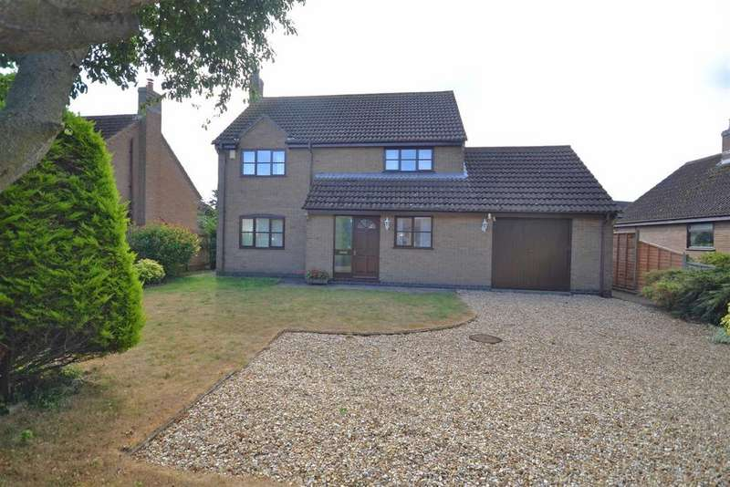 3 Bedrooms Detached House for sale in High Street, Swayfield, Grantham