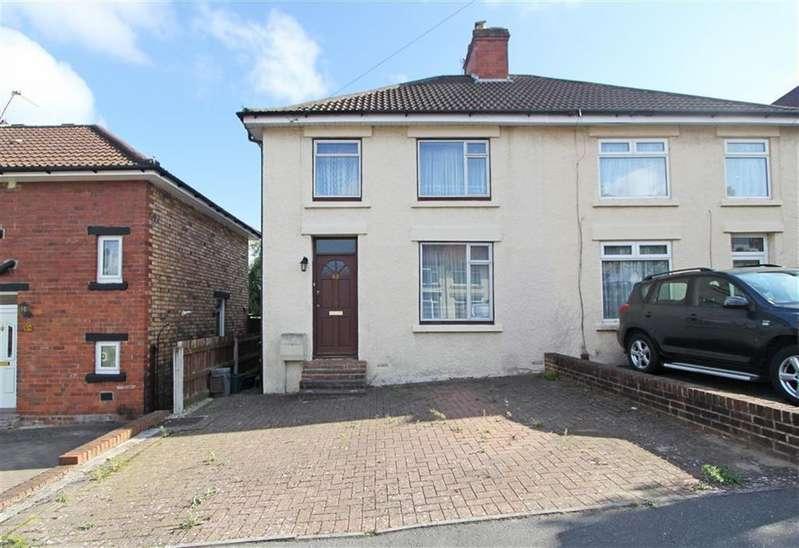 3 Bedrooms Semi Detached House for sale in Manworthy Road, Brislington, Bristol
