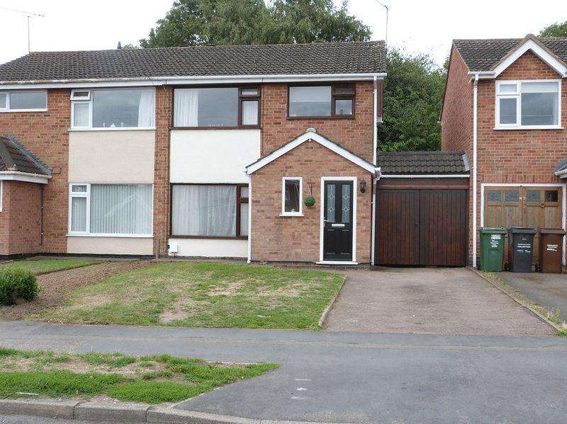 3 Bedrooms Semi Detached House for sale in Goodes Lane, Syston