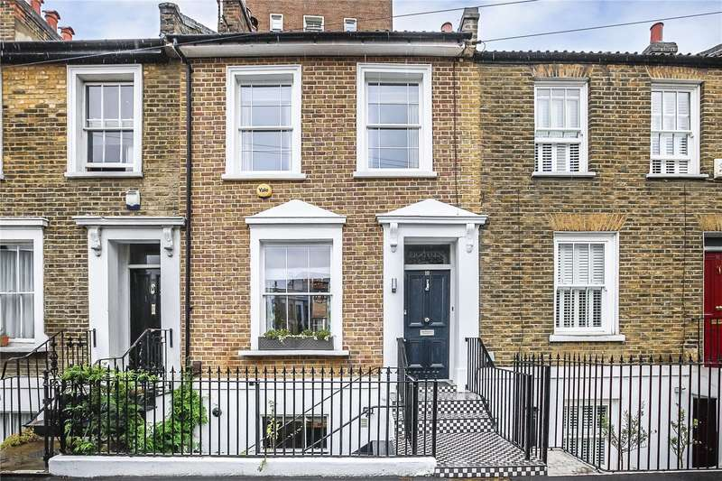 3 Bedrooms Terraced House for sale in Burgos Grove, London, SE10