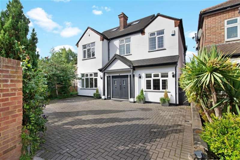 5 Bedrooms Detached House for sale in Cranborne Avenue, Norwood Green, UB2 4HY
