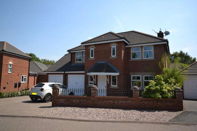 5 Bedrooms Detached House for sale in Lonsdale Close, Great Sankey, Warrington
