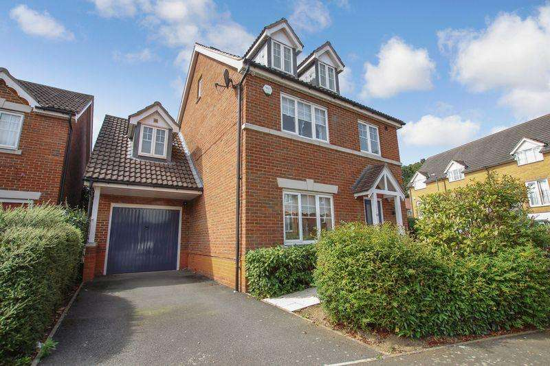 4 Bedrooms Detached House for sale in Woolbrook Road, Braeburn Park, Crayford