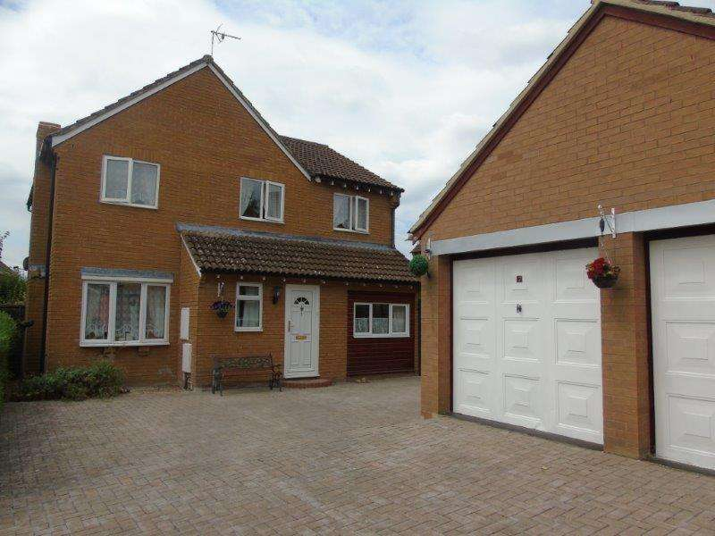 4 Bedrooms Detached House for sale in Coopers Way, Newent