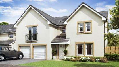 5 Bedrooms Detached House for sale in Kessington Gate, Off Inveroran Drive