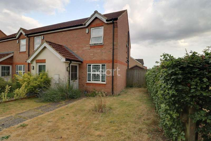 2 Bedrooms End Of Terrace House for sale in Boundary Walk, Faldingworth