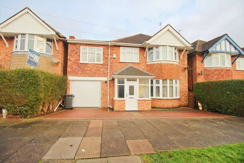 4 Bedrooms Detached House for sale in Summerlea Road, Leicester, LE5