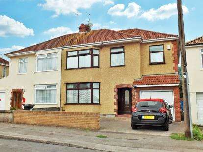 5 Bedrooms Semi Detached House for sale in Ferndale Road, Horfield, Bristol