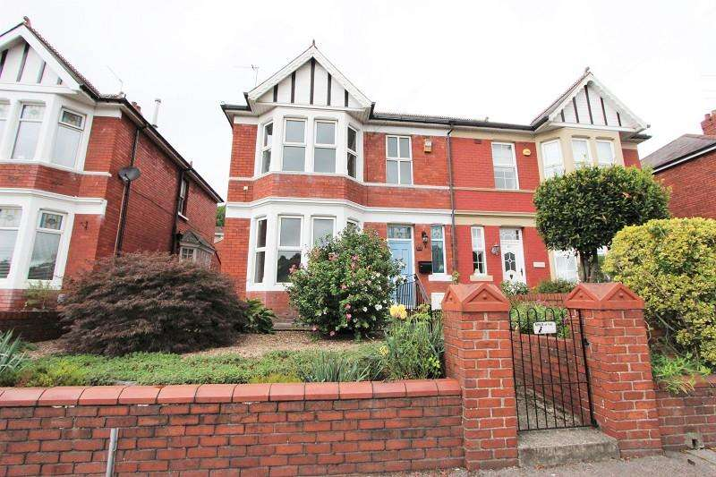 4 Bedrooms Semi Detached House for sale in Chepstow Road, Newport. NP19 9BN
