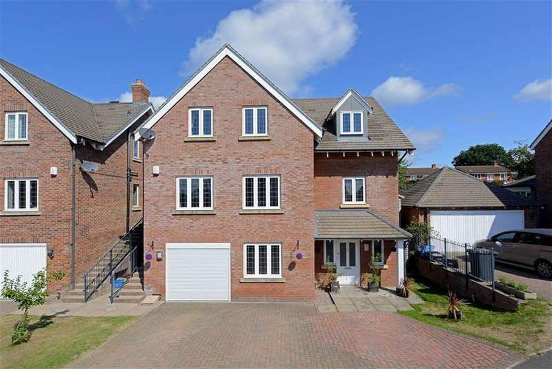 5 Bedrooms Detached House for sale in Mousecroft Grange, Mousecroft Lane, Shrewsbury, Shropshire