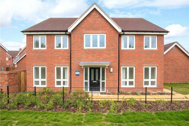 4 Bedrooms Detached House for sale in Plot No. 031, Canalside View, Off Stocklake, Aylesbury