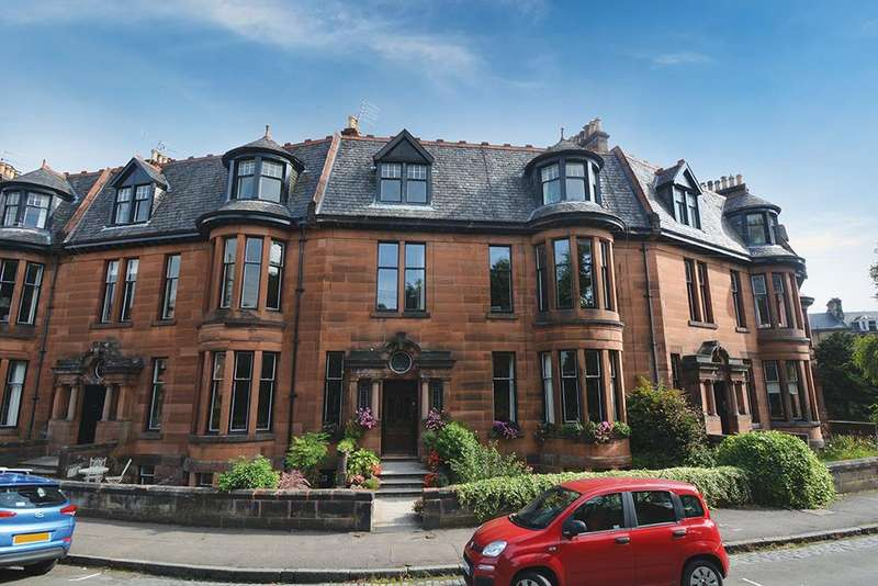 3 Bedrooms Duplex Flat for sale in 20 Kensington Gate, Dowanhill, G12 9LQ