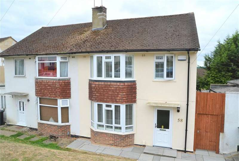 3 Bedrooms Semi Detached House for sale in Royal Avenue, Calcot, Reading, Berkshire, RG31