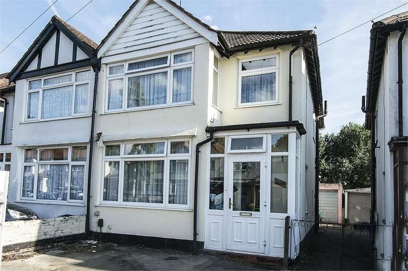 4 Bedrooms Semi Detached House for sale in Studland Road, Hanwell, LONDON