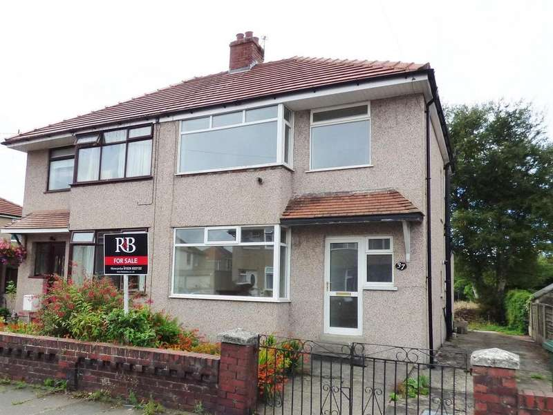 3 Bedrooms Semi Detached House for sale in Thirlmere Drive, Morecambe