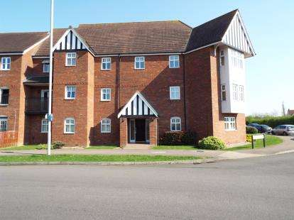 2 Bedrooms Flat for sale in Wadsworth Court, Bedford, Bedfordshire