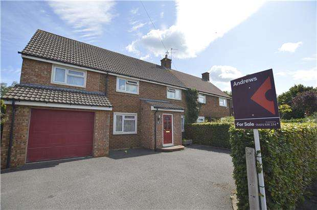 4 Bedrooms Semi Detached House for sale in Bradstone Road, Winterbourne