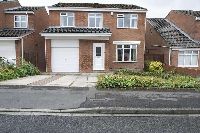 4 Bedrooms Detached House for sale in Barford Close, Fens, Hartlepool TS25