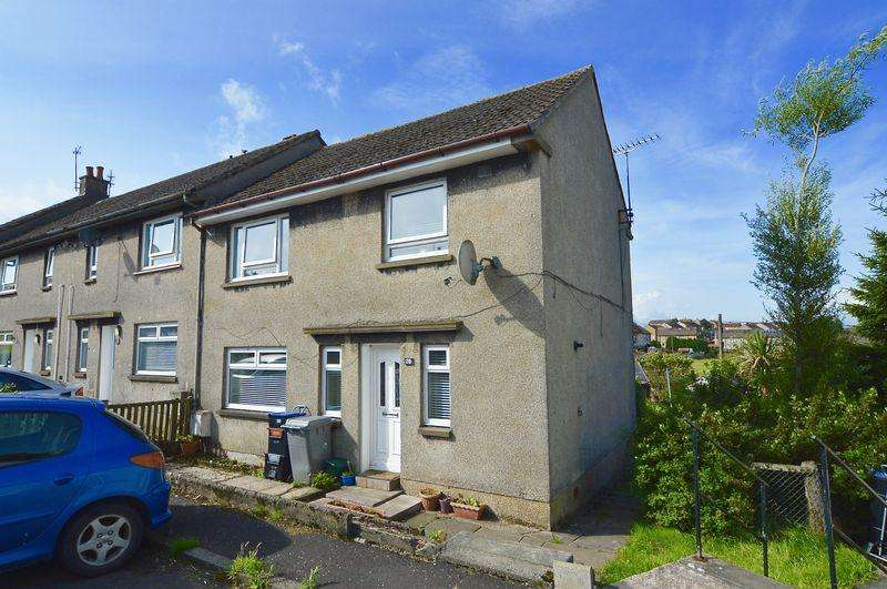 3 Bedrooms End Of Terrace House for sale in Lanehead Terrace, New Cumnock