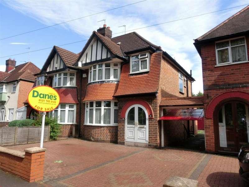 3 Bedrooms Semi Detached House for sale in Fox Hollies Road, Acocks Green, Birmingham