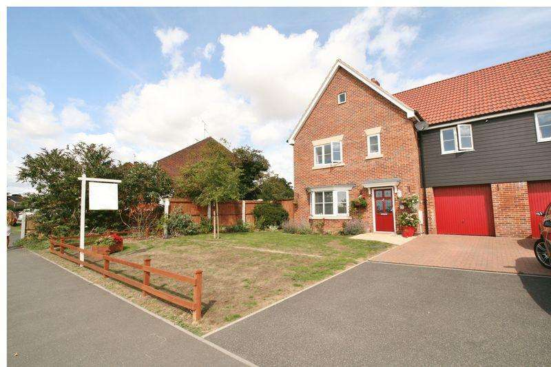 4 Bedrooms Link Detached House for sale in Red Barn Road, Brightlingsea