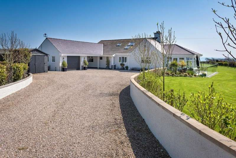 4 Bedrooms Detached Bungalow for sale in Abersoch, Pwllheli, North Wales