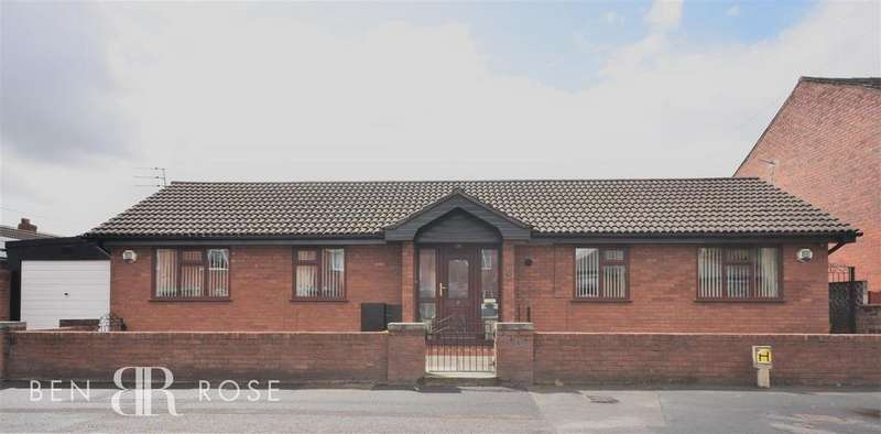 3 Bedrooms Detached Bungalow for sale in Lichfield Road, Chorley