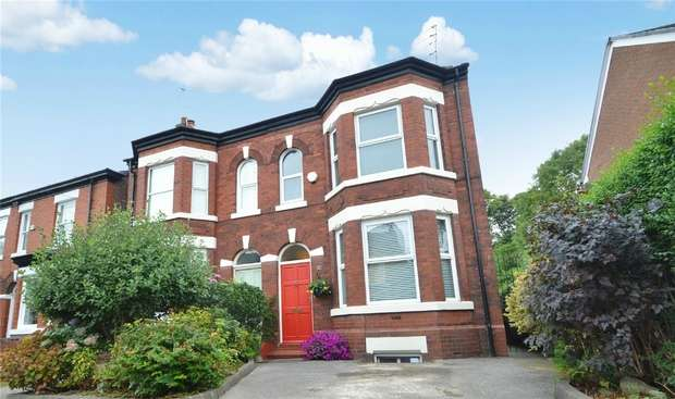 4 Bedrooms Semi Detached House for sale in Beech Road, Davenport, Stockport, Cheshire