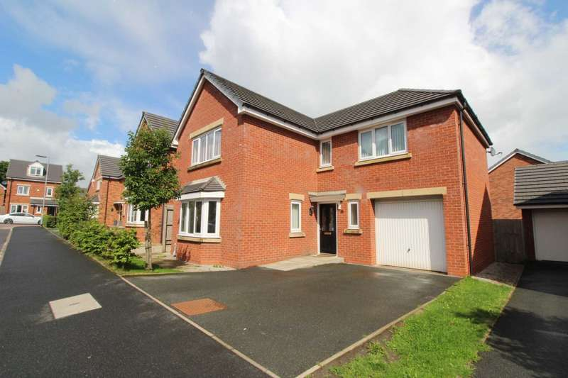 4 Bedrooms Detached House for sale in Burlington Drive, Bolton