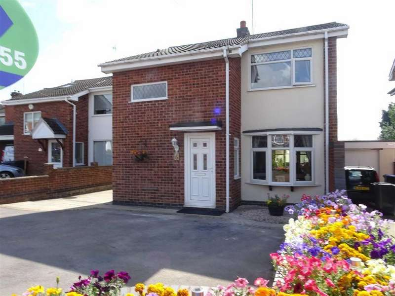 3 Bedrooms Detached House for sale in Bearsden Crescent, Hinckley