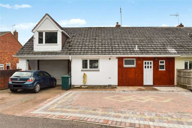 4 Bedrooms Semi Detached Bungalow for sale in Great Close, Culmstock, Cullompton, Devon, EX15