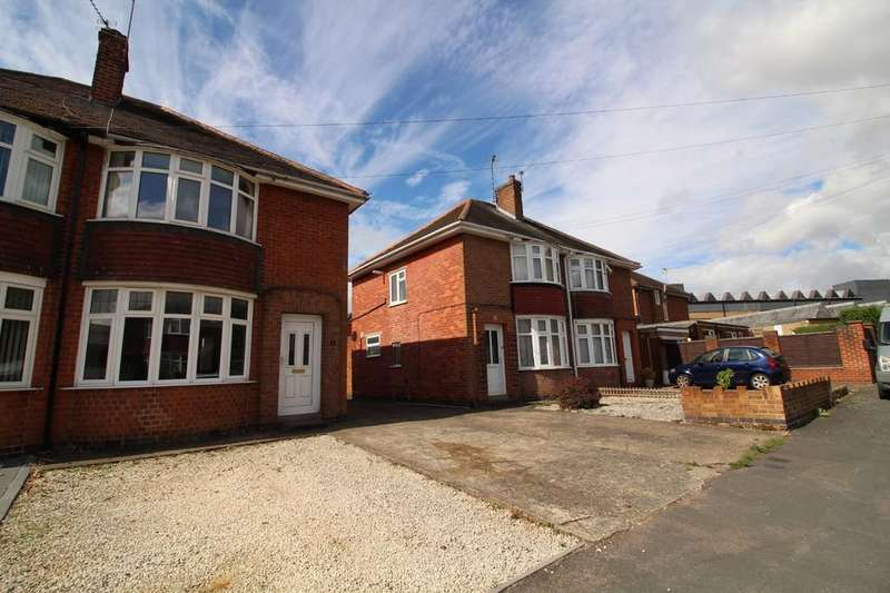 2 Bedrooms Semi Detached House for sale in King George Avenue, Loughborough