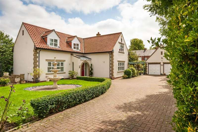 4 Bedrooms Detached House for sale in The Orlands, Aycliffe, Newton Aycliffe