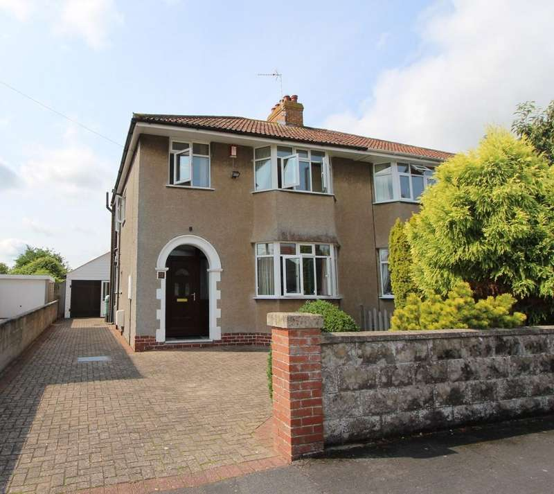 3 Bedrooms Semi Detached House for sale in Central Yatton location