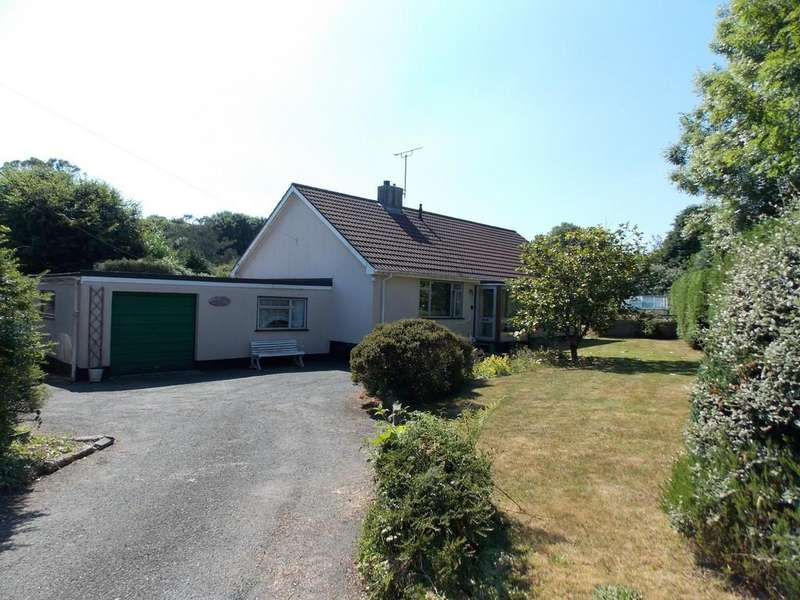 3 Bedrooms Detached Bungalow for sale in Trethurgy