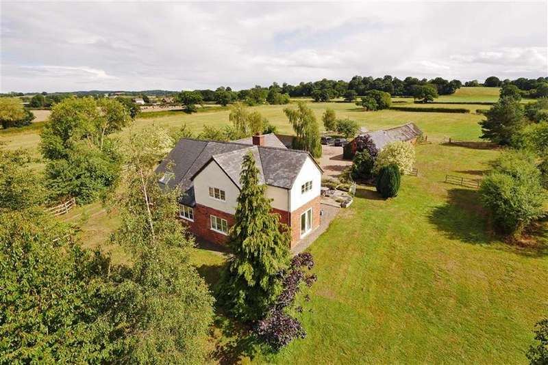 4 Bedrooms Detached House for sale in Seven Oaks Farm, Barkers Green, Wem, SY4