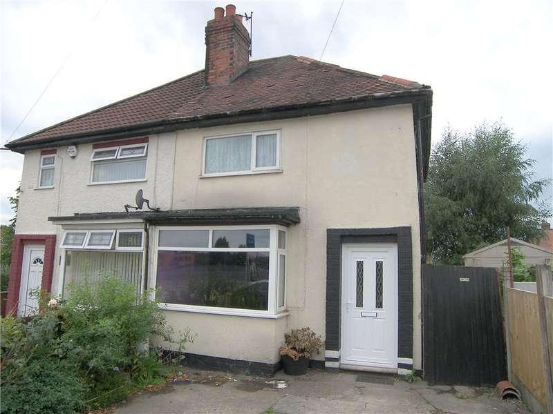 2 Bedrooms Semi Detached House for sale in Grange Street, Alfreton, Derbyshire, DE55