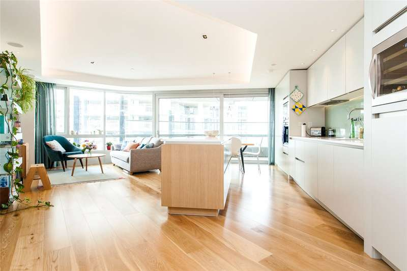 2 Bedrooms Flat for sale in Canaletto, 257 City Road, EC1V