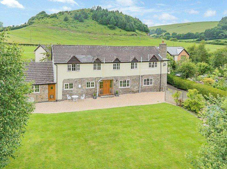 7 Bedrooms Equestrian Facility Character Property for sale in Heyope, Knighton, Powys