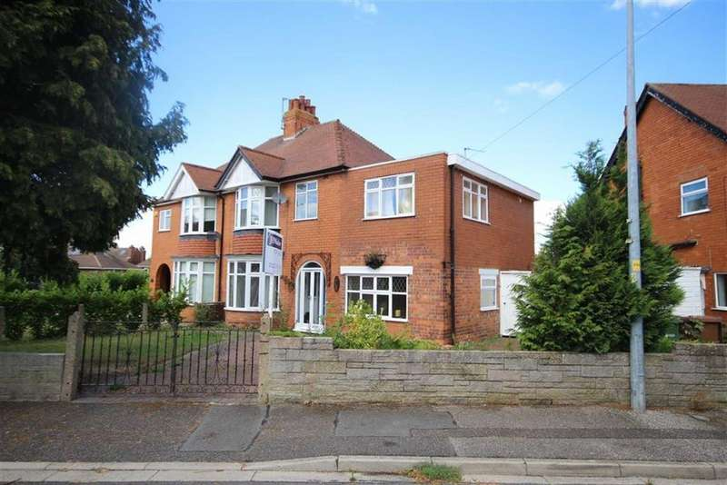 4 Bedrooms Semi Detached House for sale in Haffenden Road, Lincoln, Lincolnshire