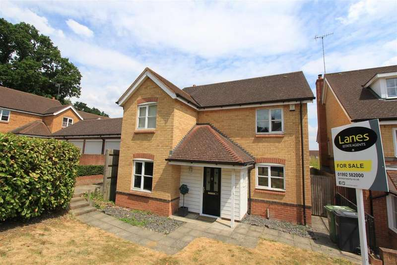 4 Bedrooms Detached House for sale in Gosse Close, Hoddesdon