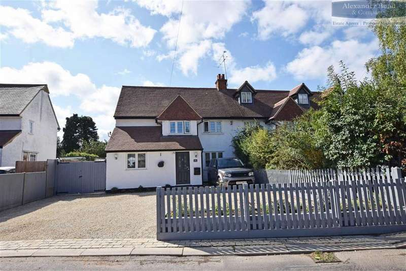 4 Bedrooms Semi Detached House for sale in Gun Road, Knebworth, Herts, SG3