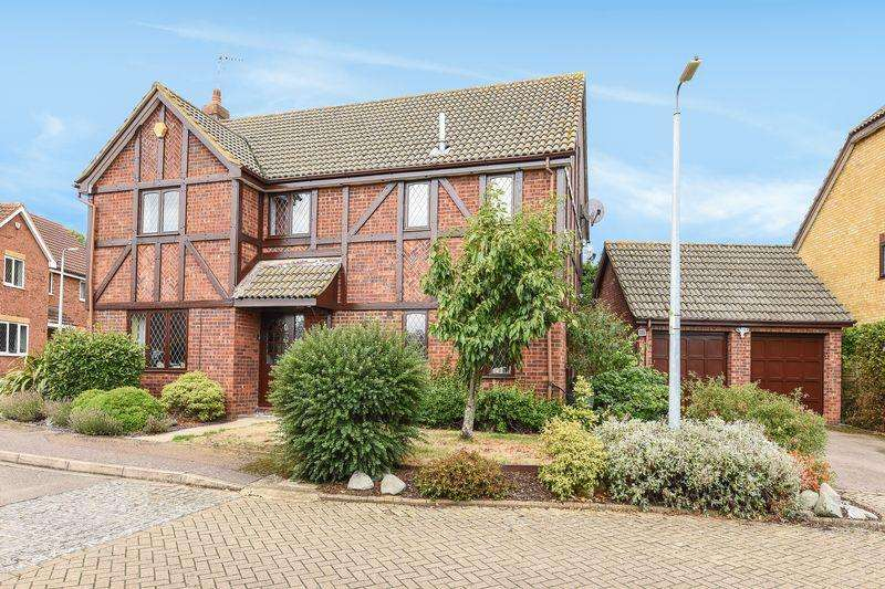 4 Bedrooms Detached House for sale in Parmiter Way, Ampthill